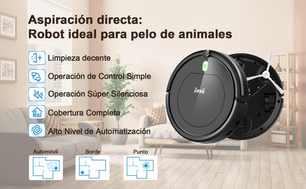 Robot ideal para pelo de mascotas