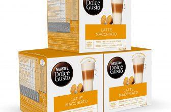 48 cápsulas de café Latte Macchiato compatibles con Dolce Gusto