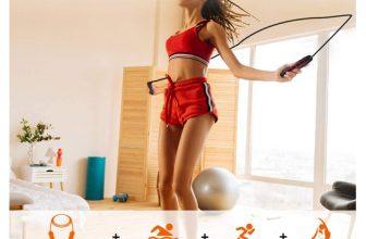 Cuerda para saltar ajustable para crossfit