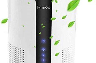 Himox Purificador Aire Hogar, con Filtro HEPA y Filtro de Carbón Activo