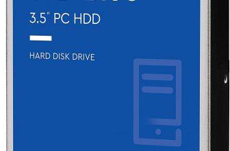WD Blue – Disco duro de 1 TB (7200 rpm, SATA a 6 Gb/s, 64 MB de caché, 3,5″) azul